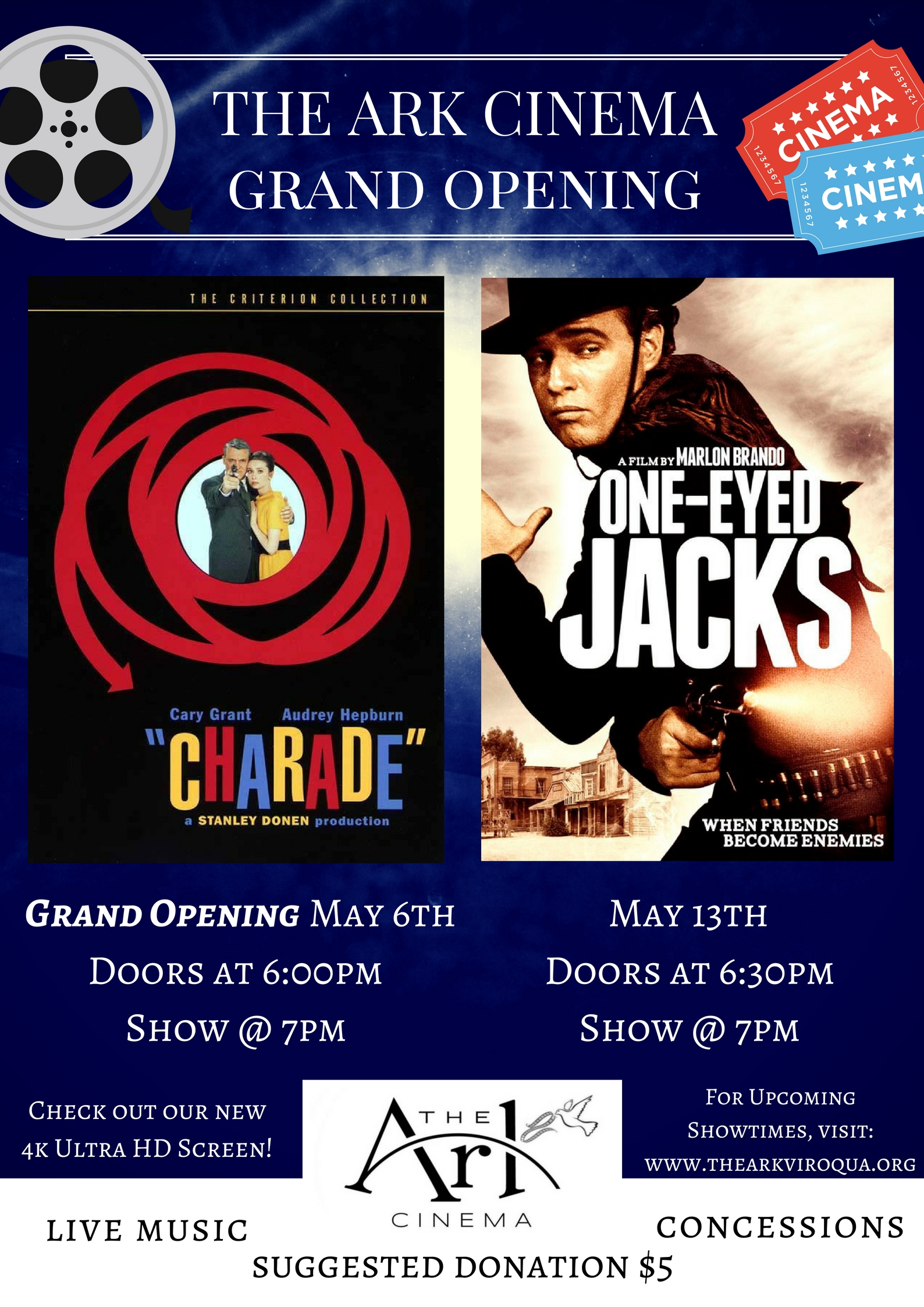Grand Opening Ark Cinema!